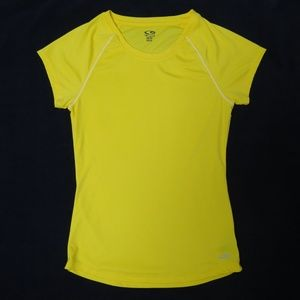 C9 by Champion Yellow Short Sleeve Athletic Shirt
